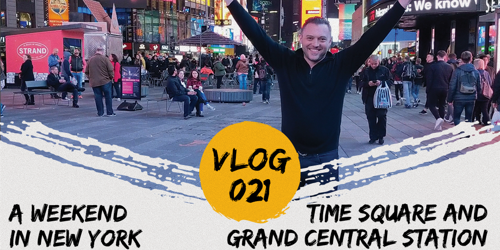Time Square and Grand Central Station