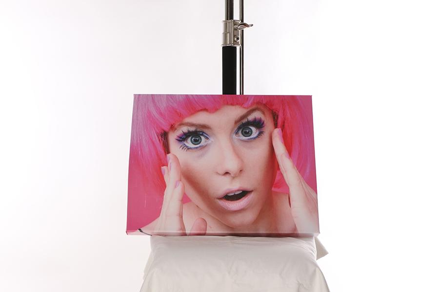 Canvas Print Pop Art Image