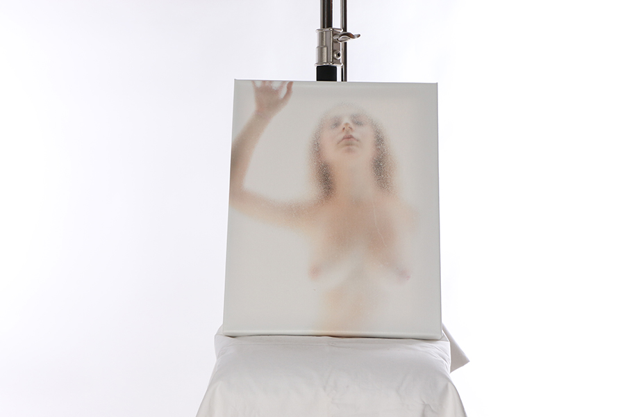 Canvas Print Trapped Image