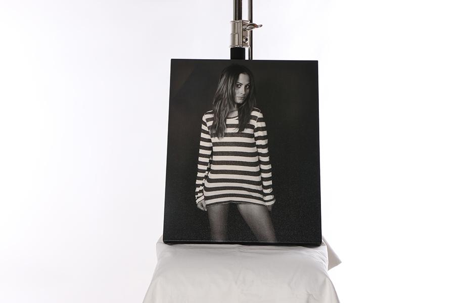 Canvas Print Striped Image