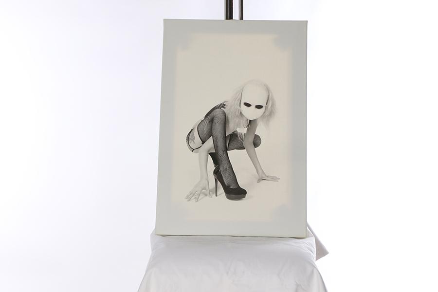 Creepy White Mask 3 of 3 Image