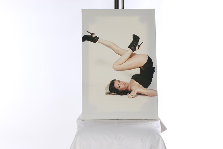 Canvas Print Leg Day Image