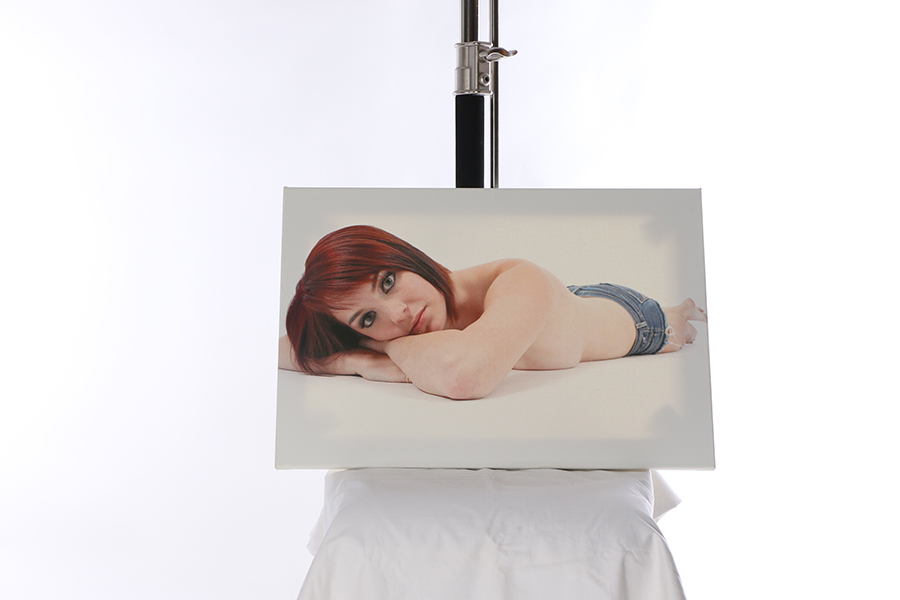 Canvas Print Just Jeans 3 of 4 Image
