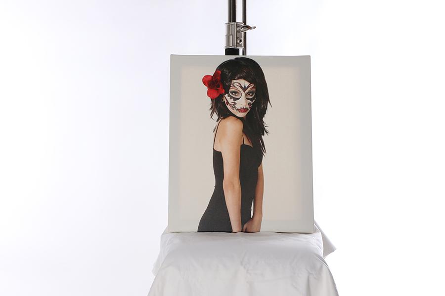 Canvas Print Dia De Los Muertos Image