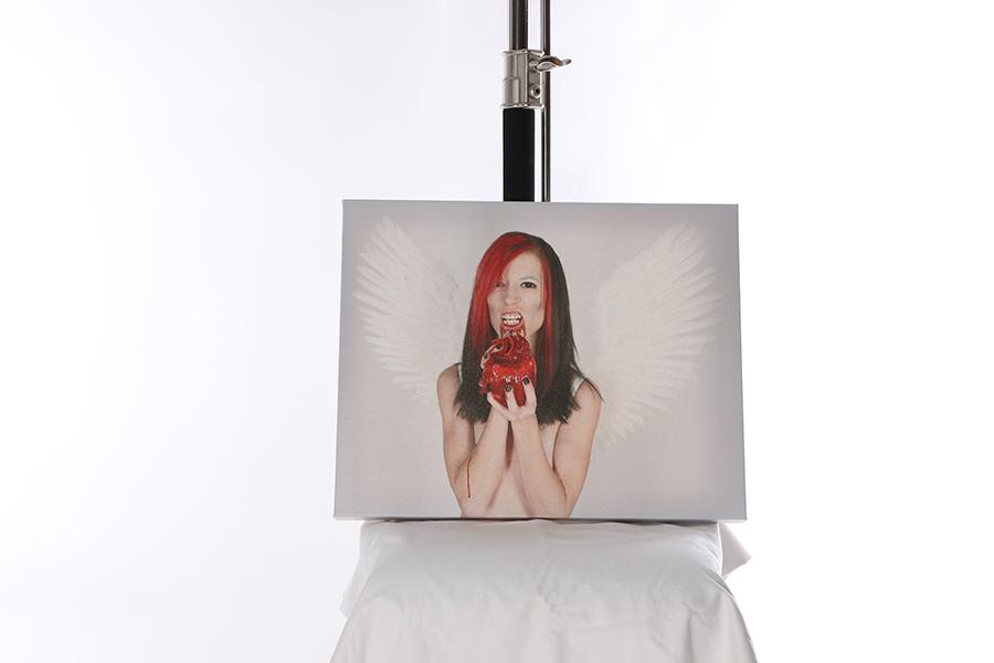 Canvas Print Evil Angel 3 of 4 Image