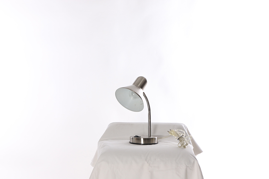Silver Desk Lamp Image