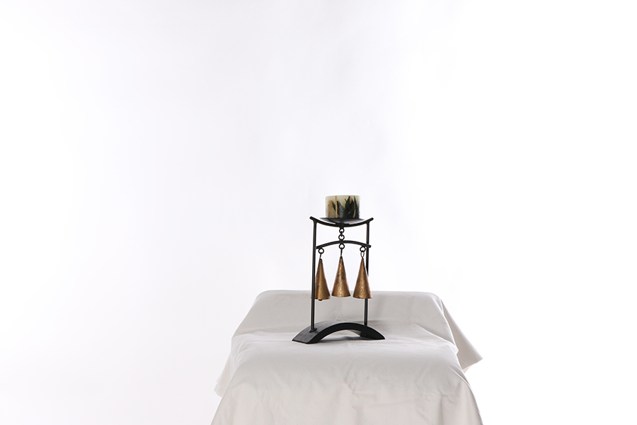 Candle Stand With Candle Image