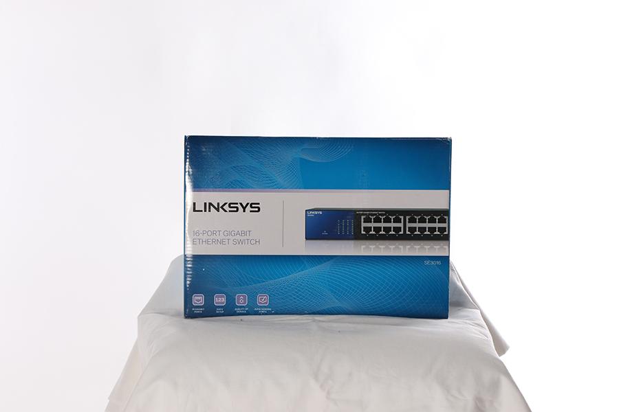 Linksys 16-Port Gigabit Switch Image