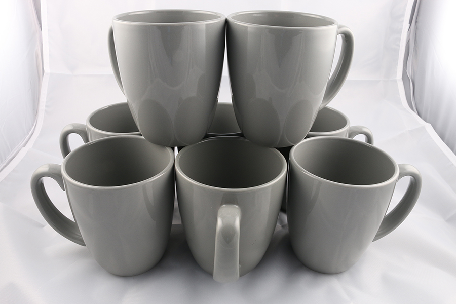 Gray Coffee Mugs Image