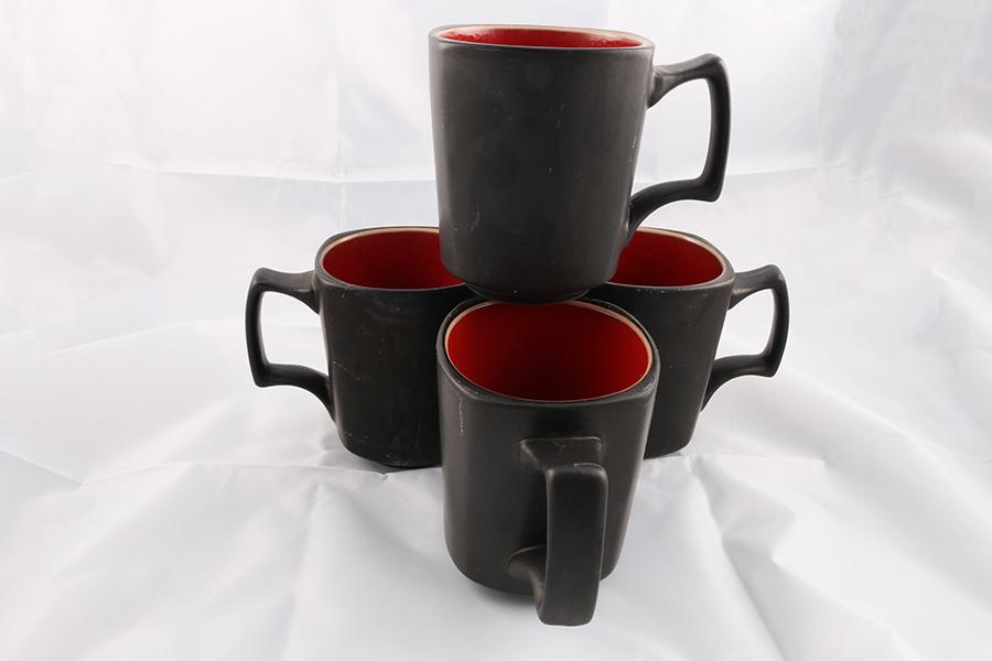 Red Square Coffee Mugs Image