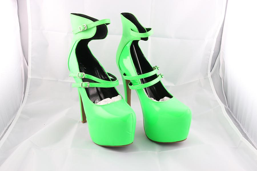 Neon Green Heels Image