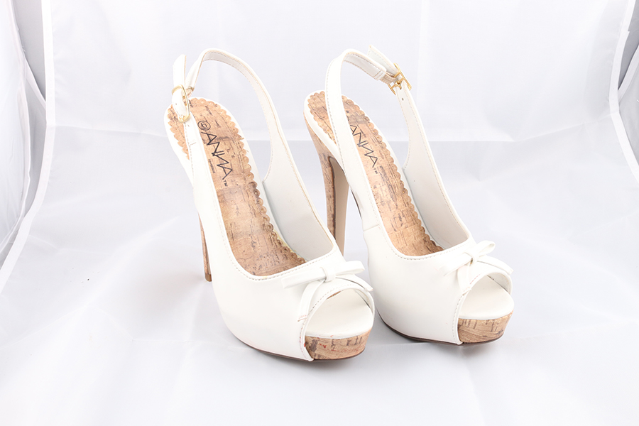 White Bow Heels (1) Image