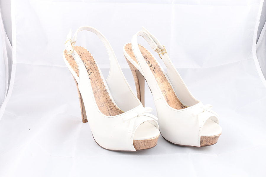 White Bow Heels (2) Image