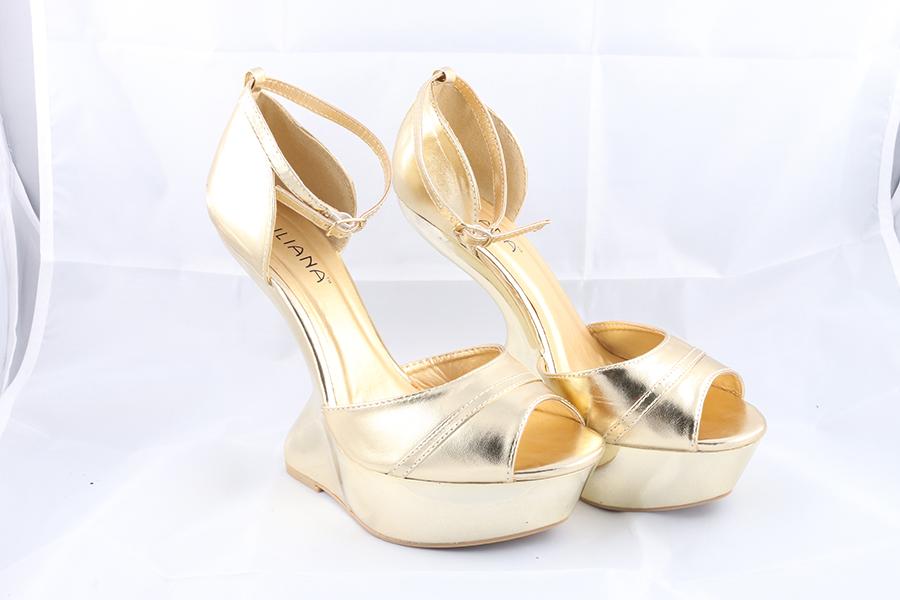 Gold Gravity Heels Image
