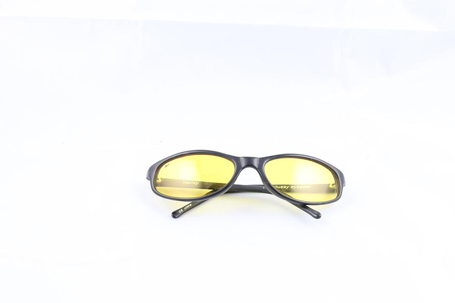 Black Frame Yellow Lens Stussy Eyewear Image