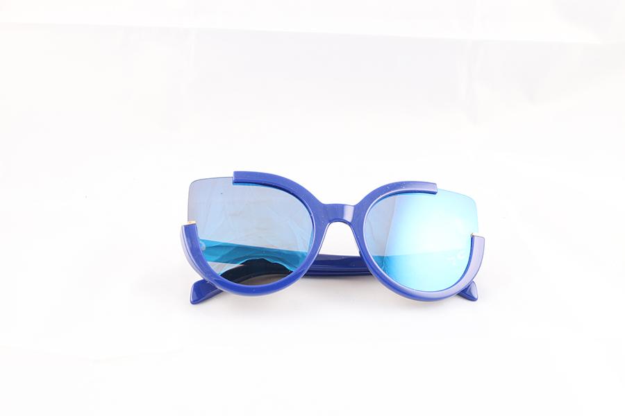 Blue Cat Eye Eyewear Image