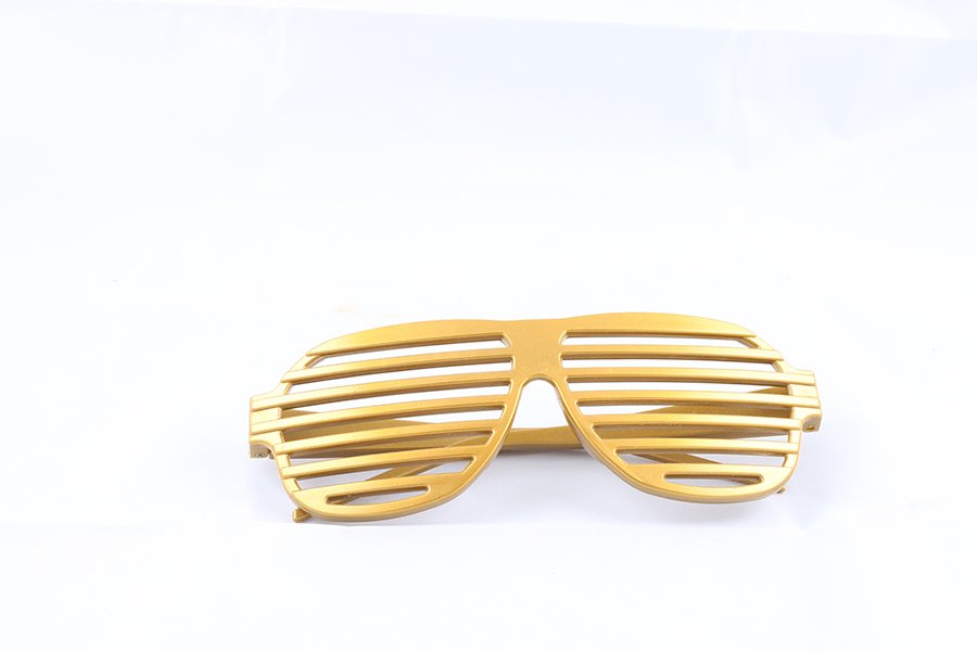 Gold Party Glasses Image