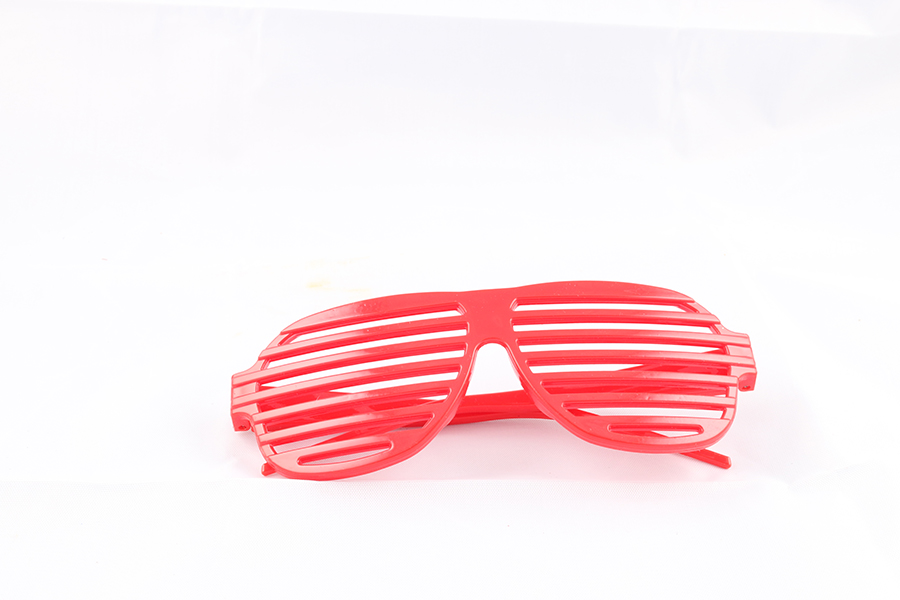 Red Party Glasses Image