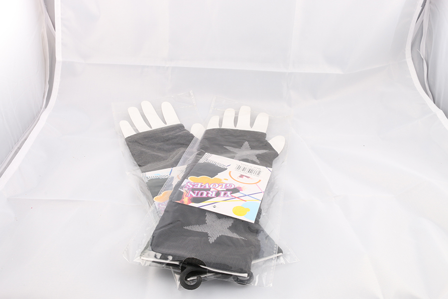Black Gloves Silver Stars Image