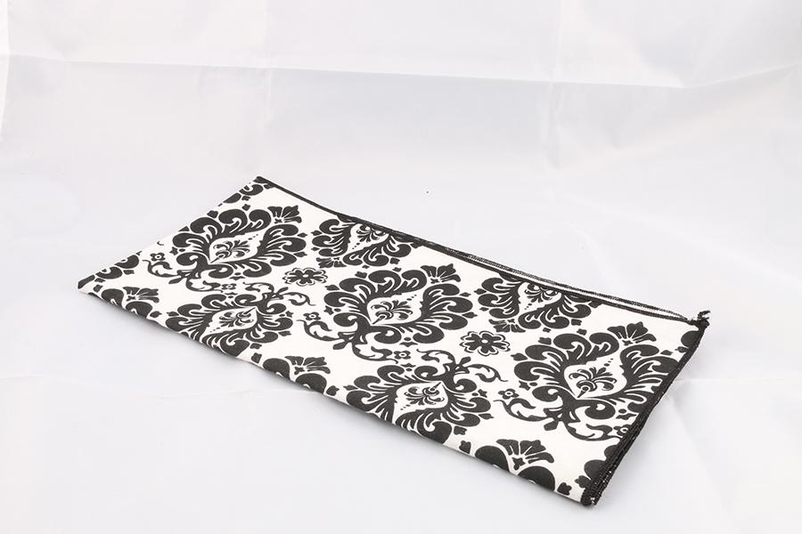 White Black Pattern Bandana Image