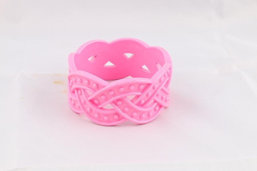 Pink Bangle Bracelet Image
