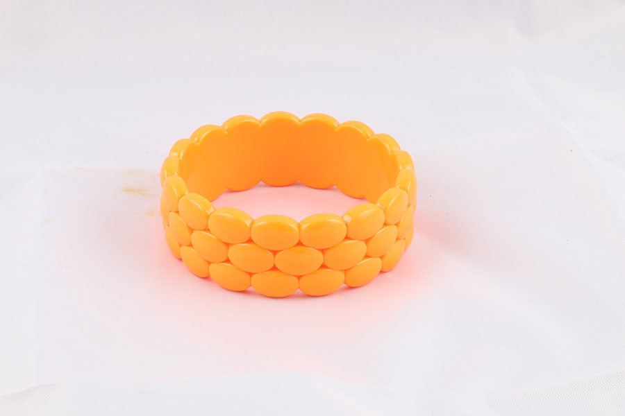 Orange Bangle Bracelet Image