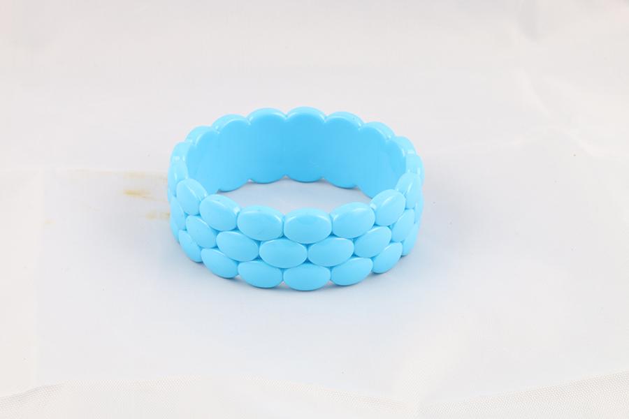 Light Blue Bangle Bracelet Image