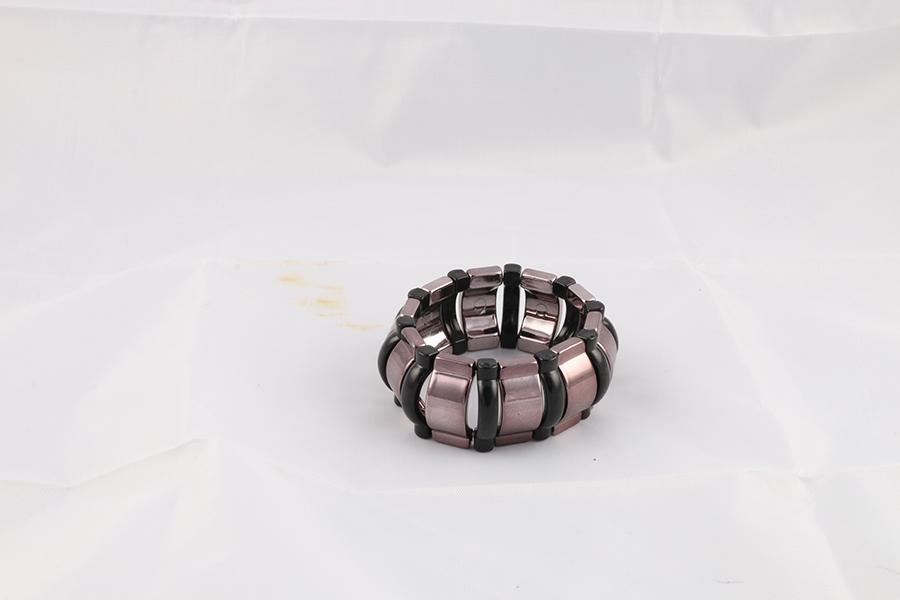 Pewter Black Bracelet Image