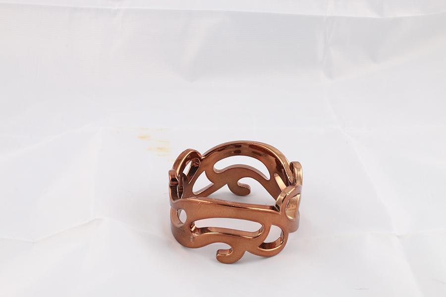 Bronze Tribal Bangle Image