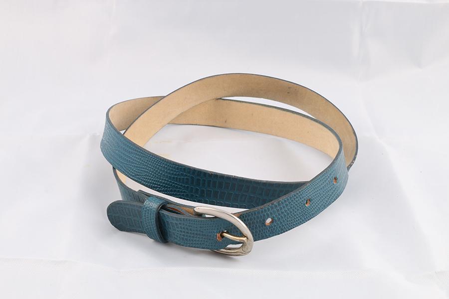 Ladies Teal Belt Image