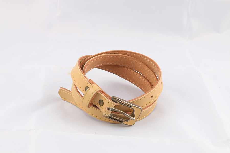 Ladies Light Tan Belt Image