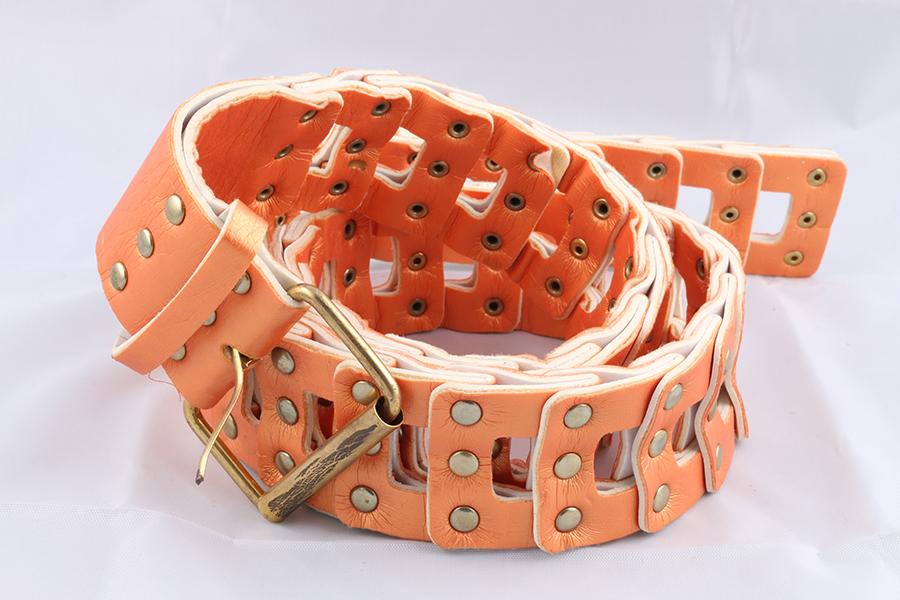 Ladies Peach Belt Image