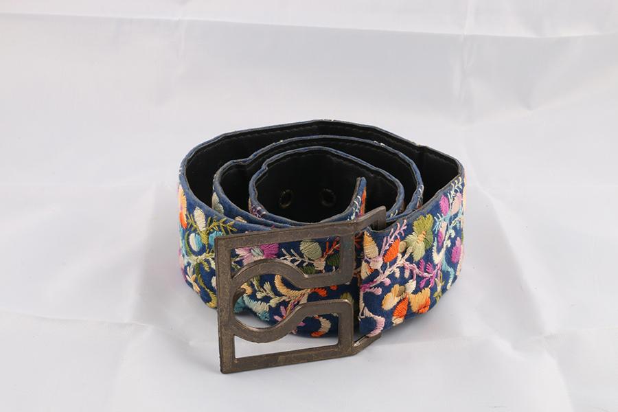 Ladies Floral Belt Image