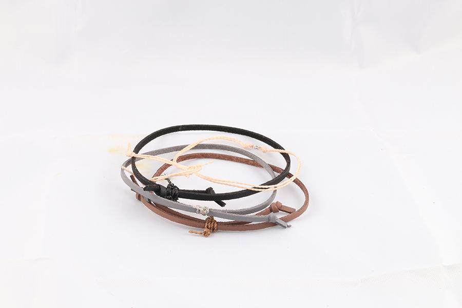 Thin Leather Bracelets Image