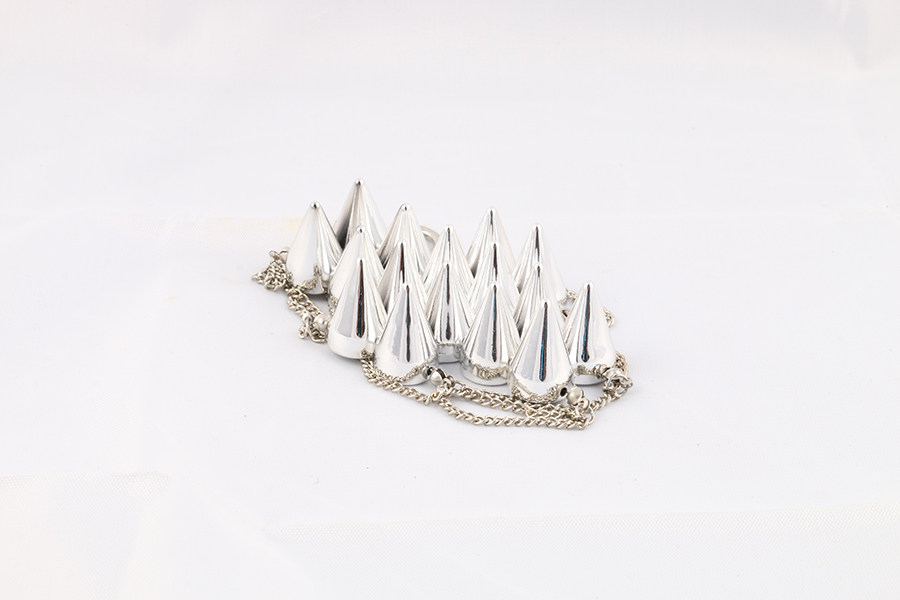 Silver Spike Bracelet Image