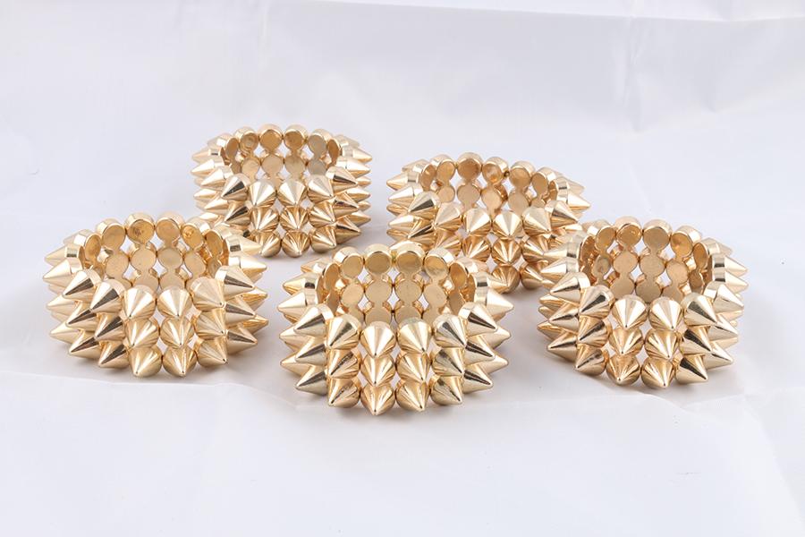Gold Spike Bracelet Image