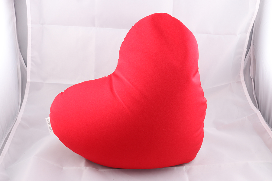 Red Heart Pillow Image