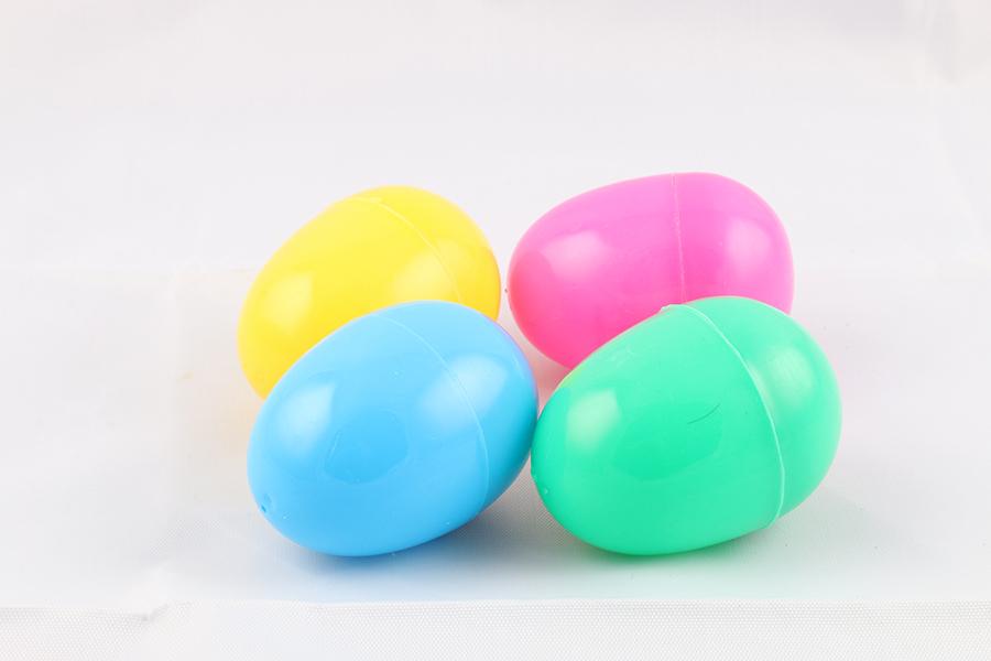 Plastic Easter Eggs Image