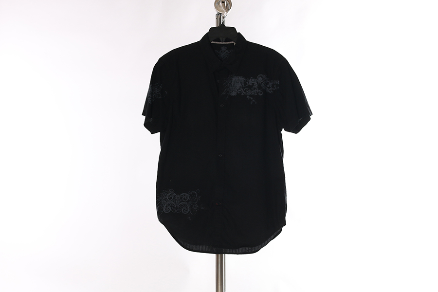 Black Button Guess Shirt Image