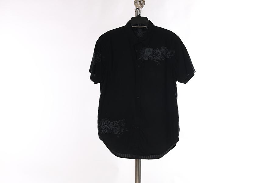 Black Button Guess Shirt Image