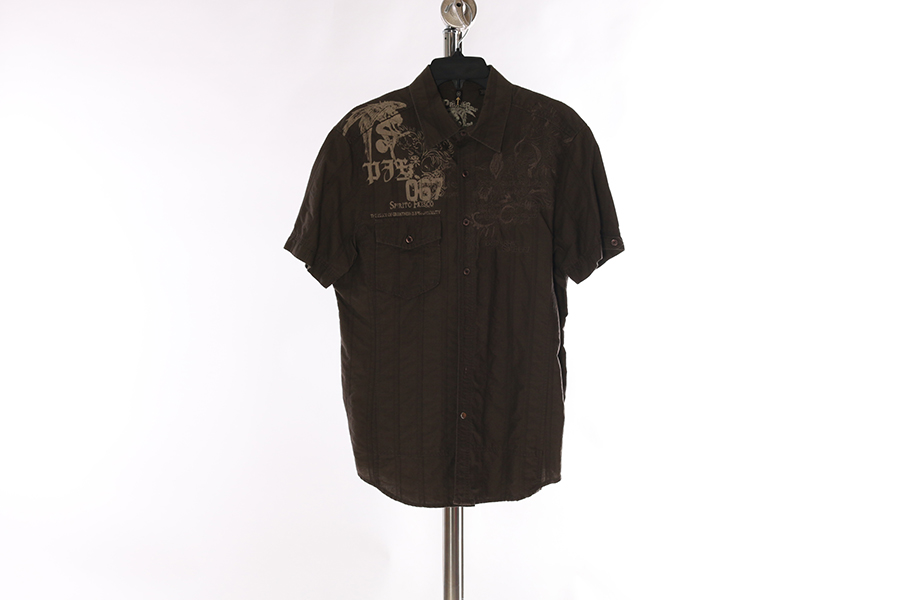 Olive Green Roar Shirt Image