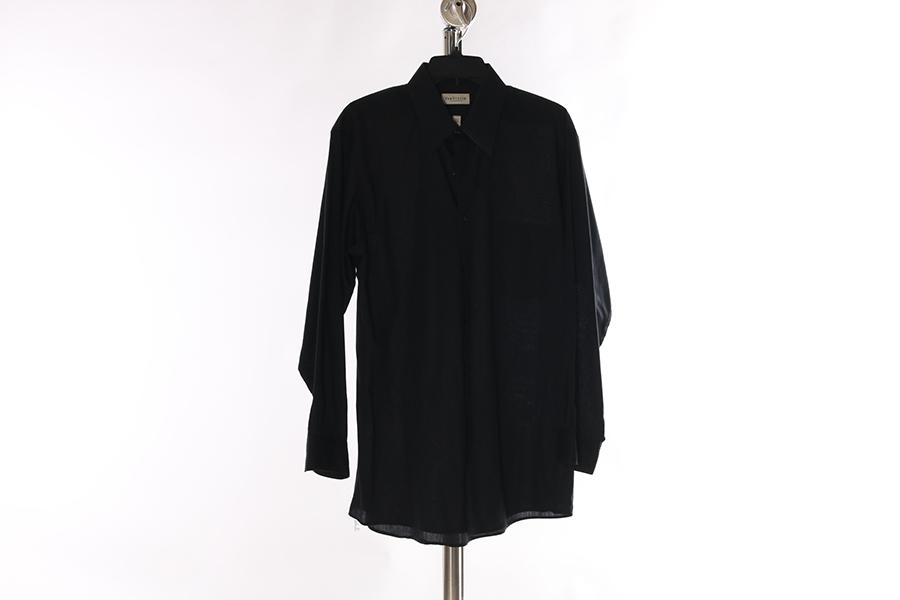 Black Striped Van Heusen Shirt Image