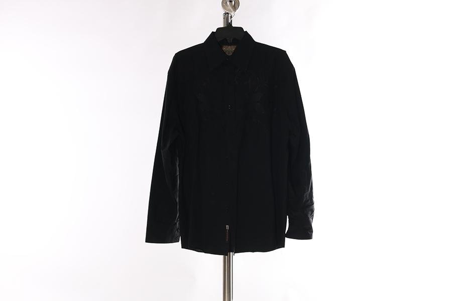 Black Roar Embroidered Shirt Image