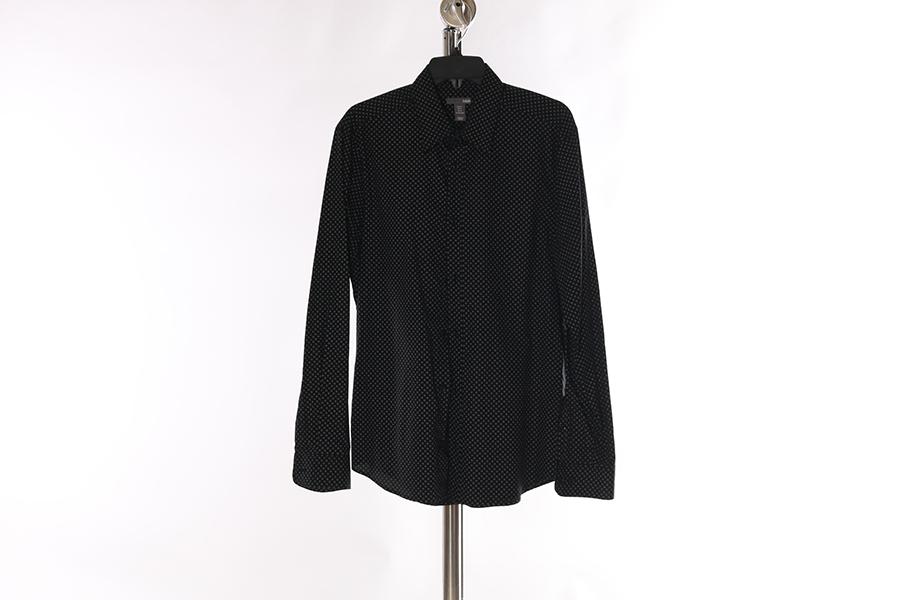 Black Pattern H&M Shirt Image