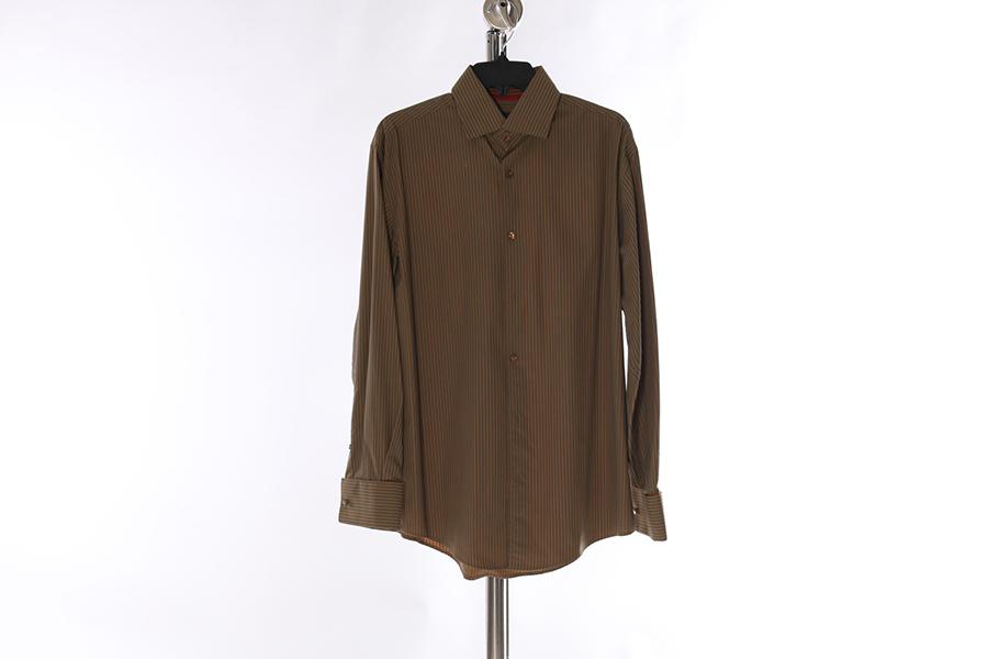 Light Tan Striped Contigo Shirt Image