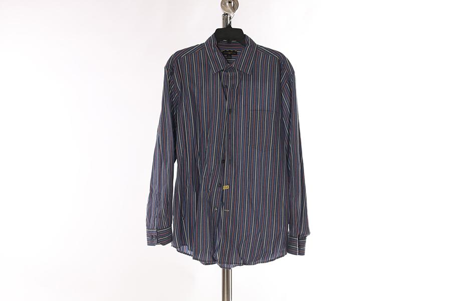 Blue Striped Club Room Shirt Image