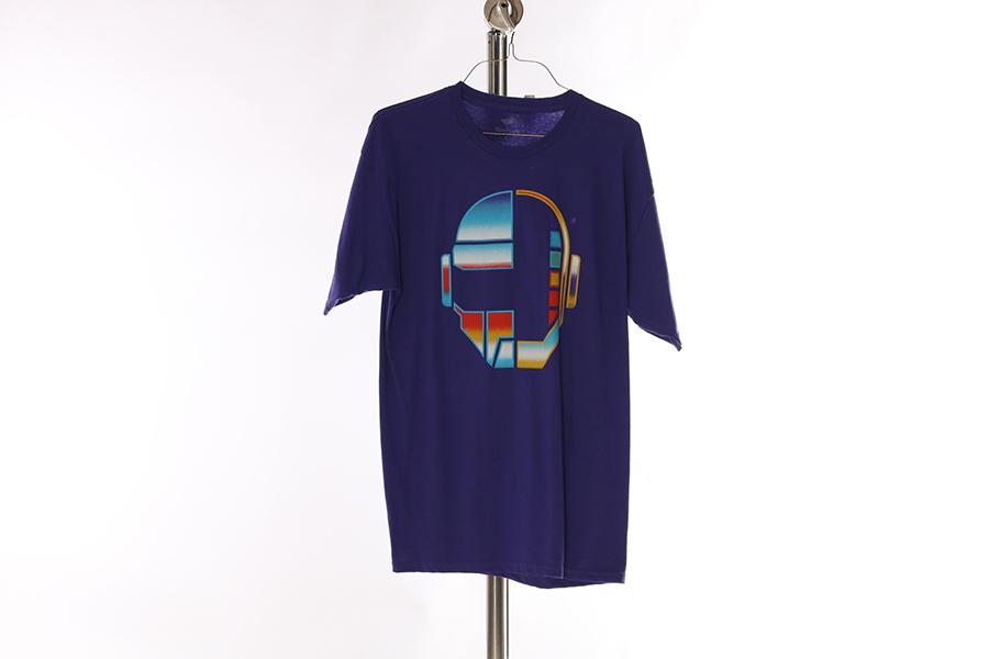 Purple Daft Punk T-Shirt Image