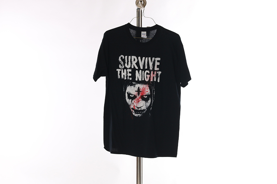 Black Survive The Night T-Shirt Image