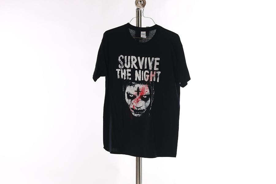 Black Survive The Night T-Shirt Image