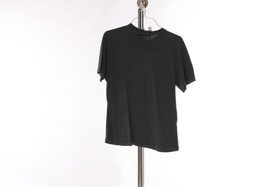 Gray Round Neck Banana Republic T-Shirt Image